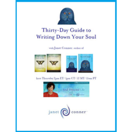Writing Down Your Soul's<br>Thirty Day Guide<br>$30.00 Instant Access