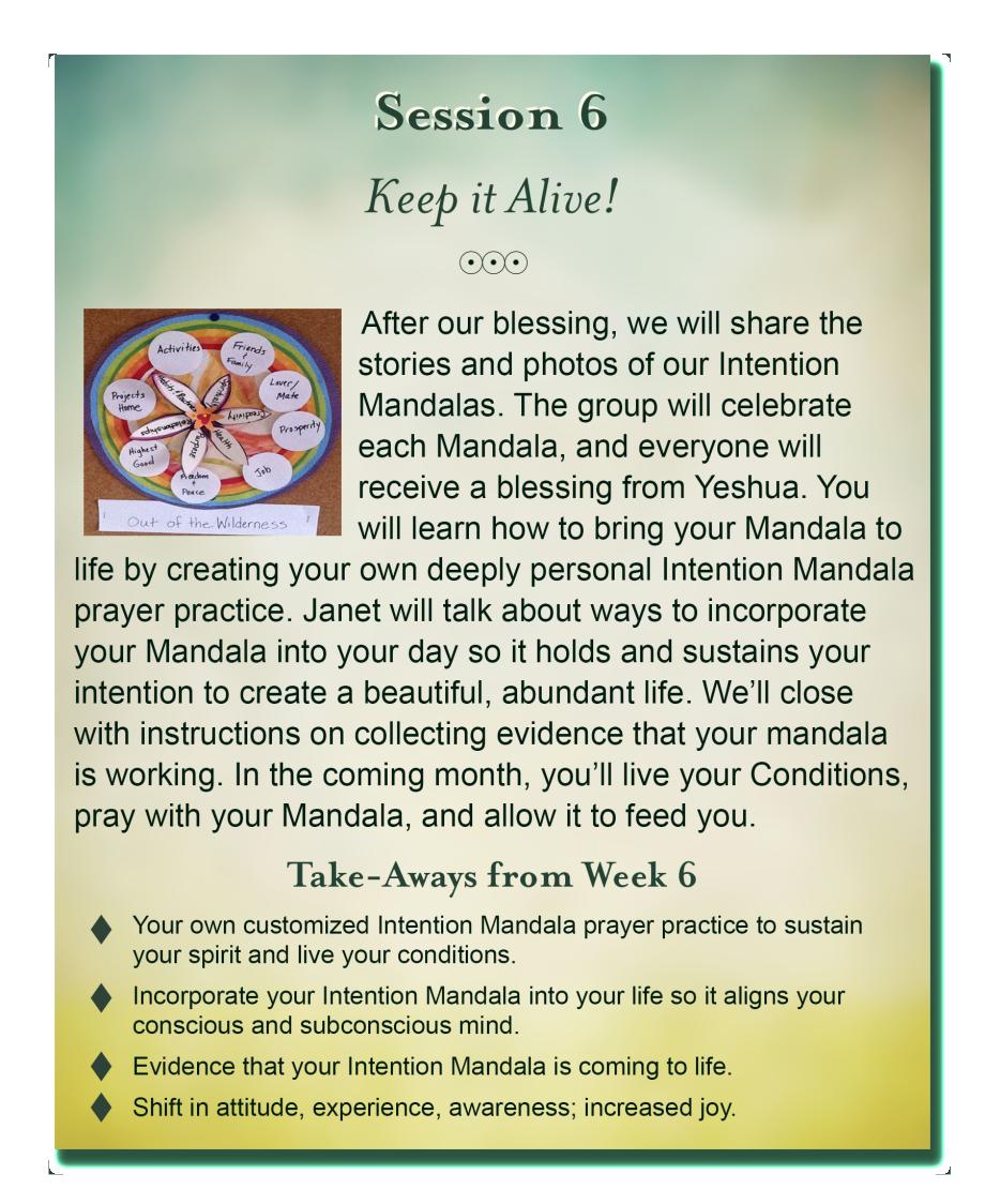 create your abundant life