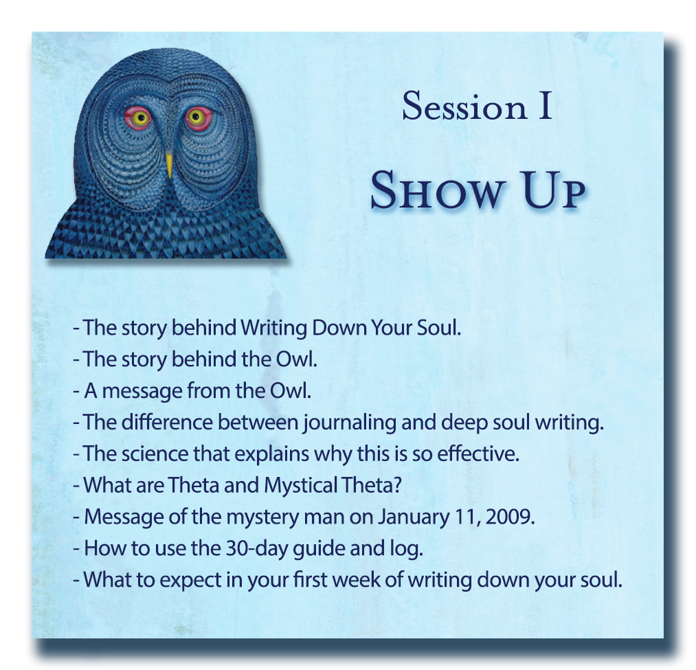 Soul Writing - Writing Down Your Soul Session 1