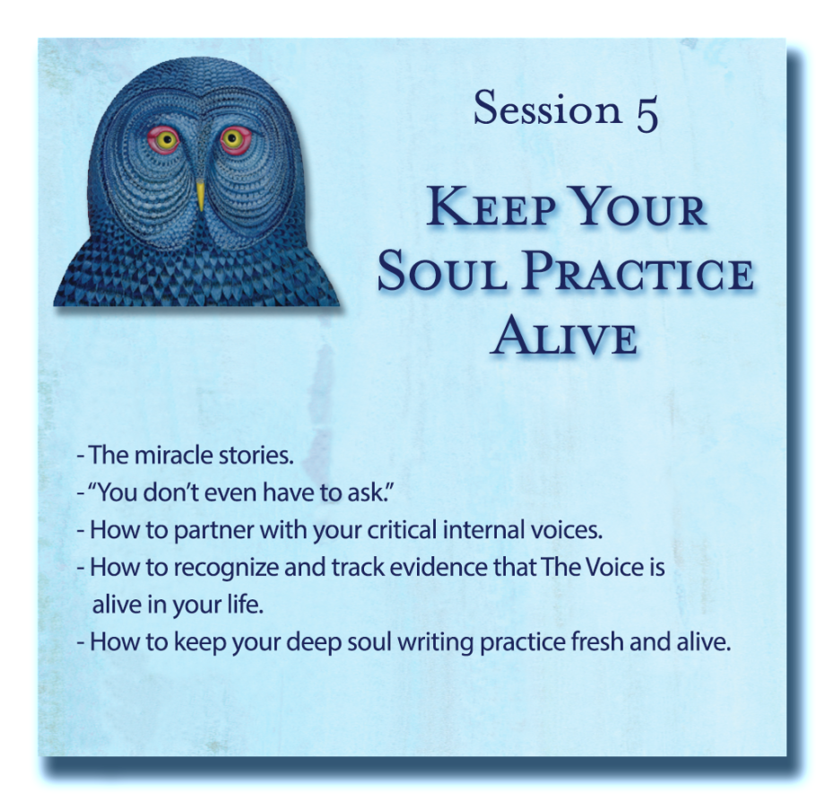 Writing Down Your Soul Session 5