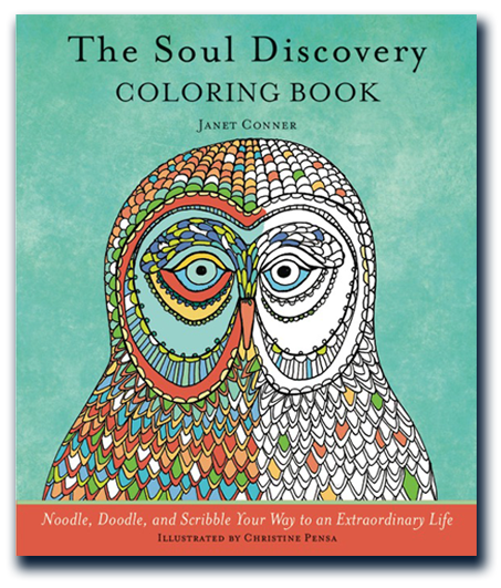 The Soul Discovery Adult Coloring Book Cover