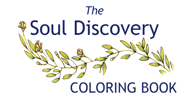 The Soul Discovery Adult Coloring Book Sales Page Header