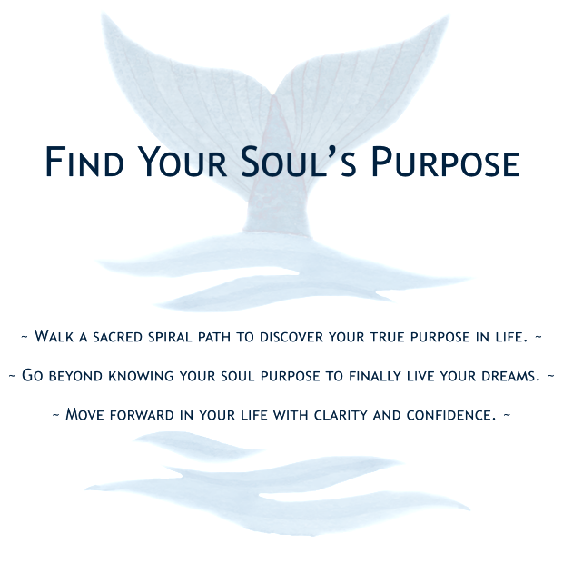 Walk a sacred spiral path to discover your true purpose in life. Go beyond knowing your soul purpose to finally live your dreams. Move forward in your life with clarity and confidence. Love your life.