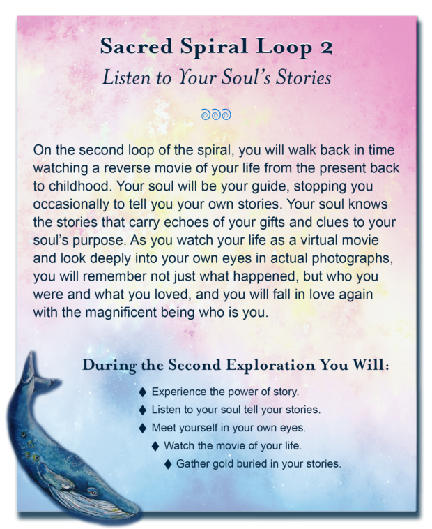 Soul Purpose Session 2 - A unique deep soul exploration walking a sacred spiral path back in time to a place where you remember the unique soul purpose you carried into this life.