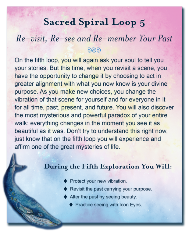 Soul Purpose Session 5 - A unique deep soul exploration walking a sacred spiral path back in time to a place where you remember the unique soul purpose you carried into this life.