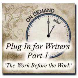 Plug In For Writers Part 1