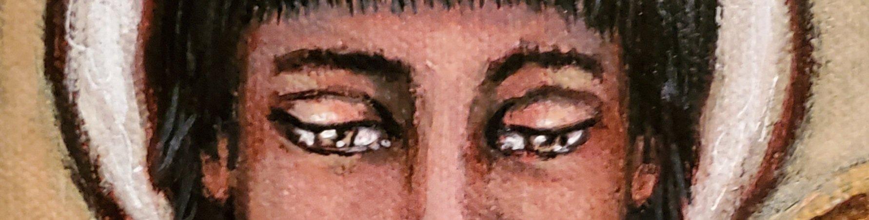 Jeanne's eyes